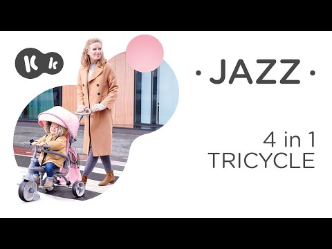 KinderKraft Триколка Jazz 4в1 Розова #nKclW1eYplo