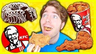 TASTING KFC FOODS