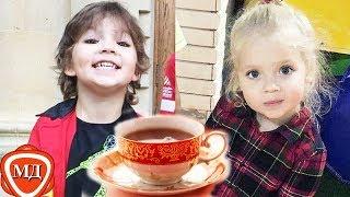 ДЕТИ ПУГАЧЕВОЙ И ГАЛКИНА: Гарри и Лиза - вечернее чаепитие, 1  и 2 части вместе!
