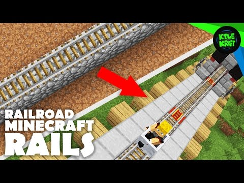 How to make a powered rail in minecraft creative