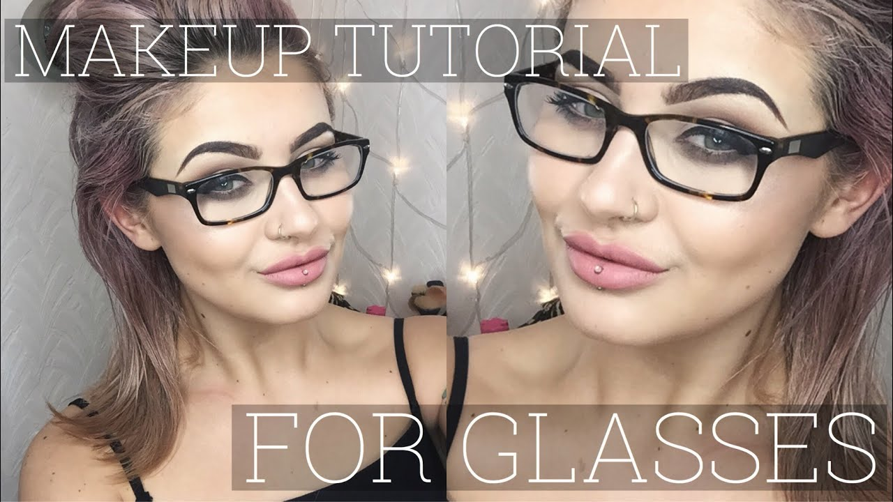 Full Makeup Tutorial For Glasses Wearers Jamie Genevieve Youtube