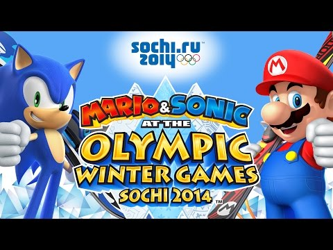Mario & Sonic At The Sochi 2014 Olympic Winter Games - All Events & Dream Events In 1st Place