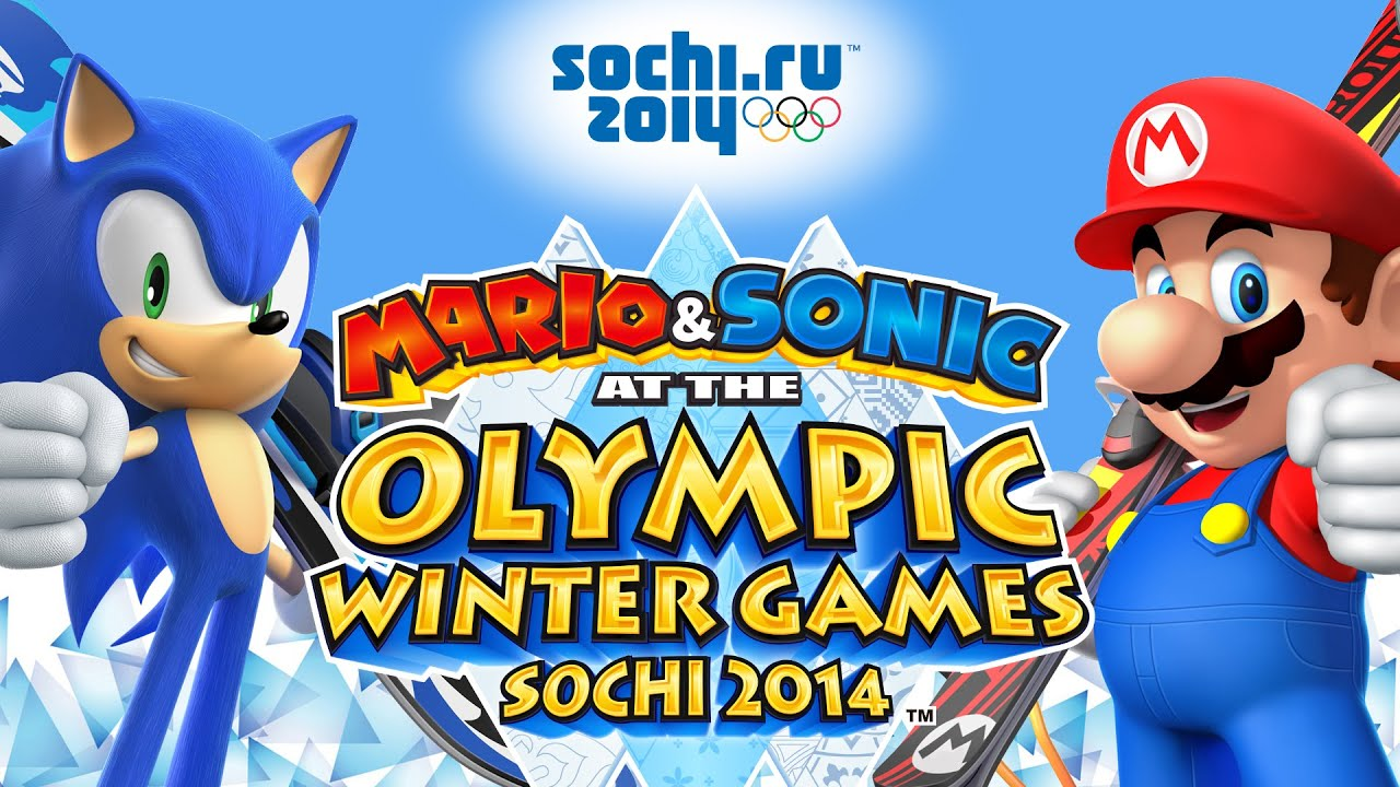 Mario and Sonic at the Sochi 2014 Olympic Winter Games ...
