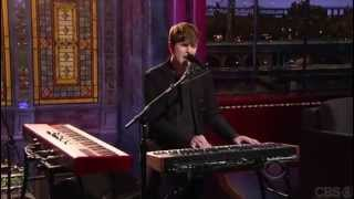 James Blake - Retrograde (Live on David Letterman)