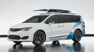 Chrysler Pacifica 2016-2017 - фото, цена и комплектации, технические характеристики, тест-драйвы и видео