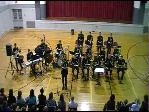 "Quantico Marine Jazz Ensemble - ""Spain"""