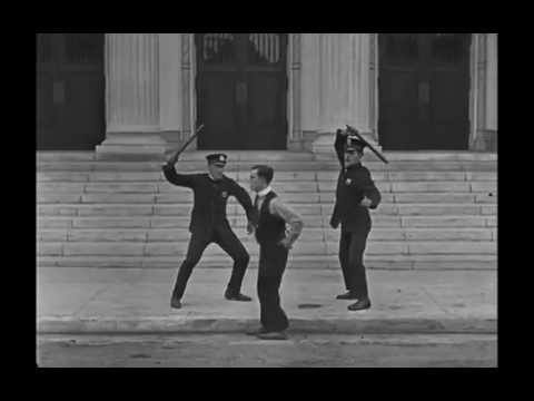 Buster Keaton Police on my back