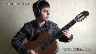 HE'S A PIRATE on guitar, performed by Alexander Chuyko / ПИРАТЫ КАРИБСКОГО МОРЯ НА ГИТАРЕ