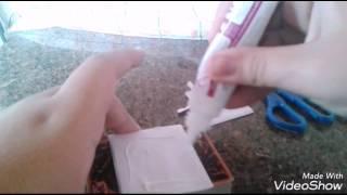 Como fazer fazer deck box caseira