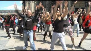 Richard O'Brien's Rocky Horror Show - Flashmob in Köln
