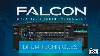 UVI Falcon Tutorials   Drum Techniques