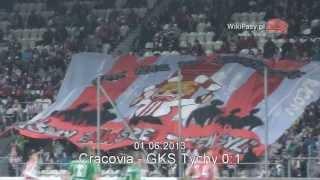 01.06.2013 Cracovia - GKS Tychy 0:1 OPRAWA DZIECIĘCA (WikiPasy.pl)