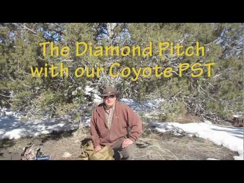 Set up a Diamond Pitch Tarp with our PST
