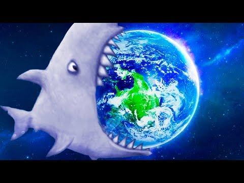МАЛЕНЬКАЯ РЫБКА Tasty Blue #19 Самая большая акула и дельфин в мире с Кидом. Бонусные уровни