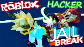O HACKER MAIS DESCARADO 😈 Jailbreak ROBLOX