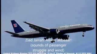 United Airlines Flight 93 CVR Recording (WARNING: DISTURBING CONTENT!)