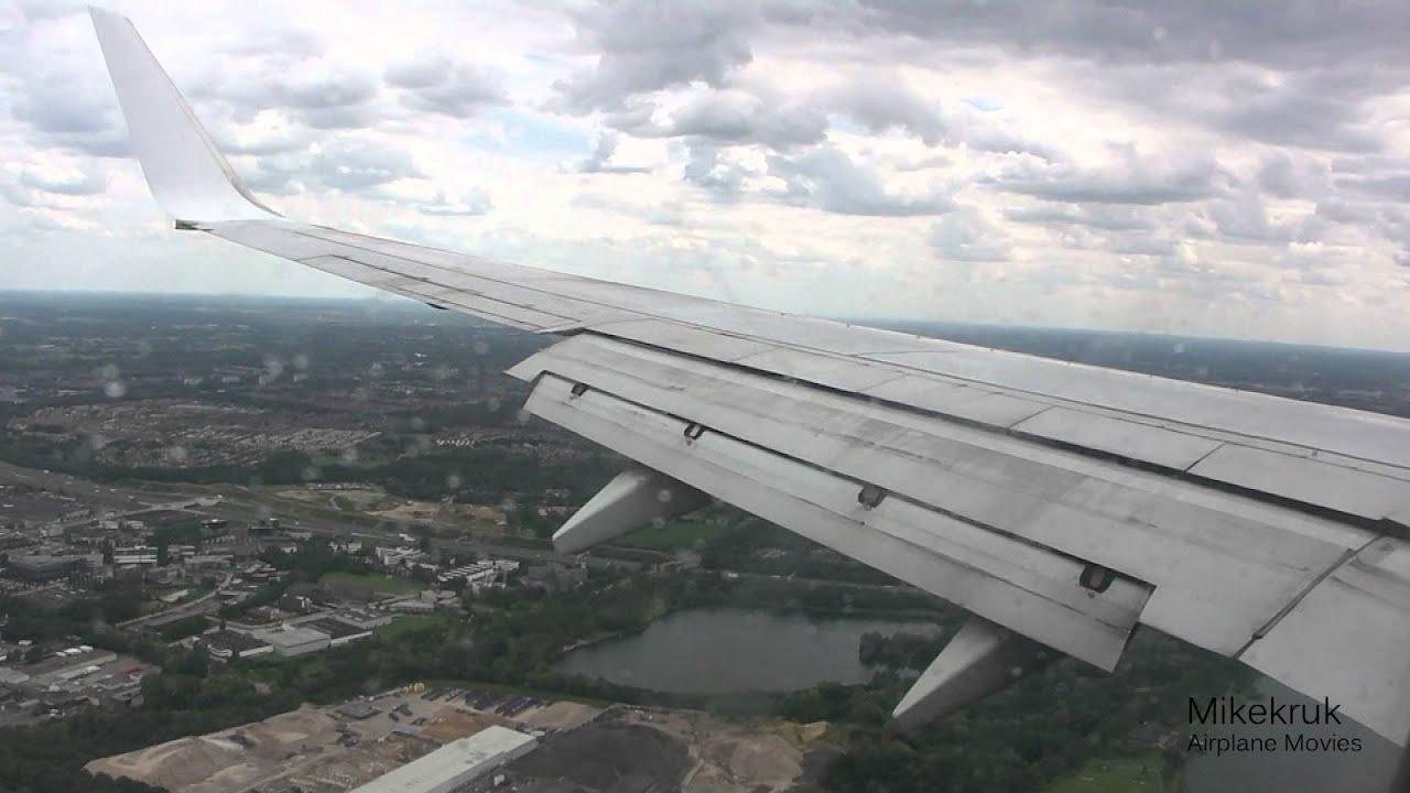 Transavia B737-800 Landing Eindhoven Airport (EHEH/EIN ...