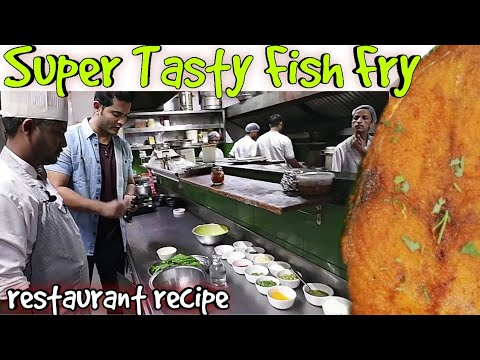 How to make Crispy Fish Fry | Easy Fish Fry Restaurant Recipe | My Kind of Productions