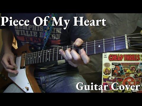 """Piece Of My Heart"" Janis Joplin  Guitar Cover"