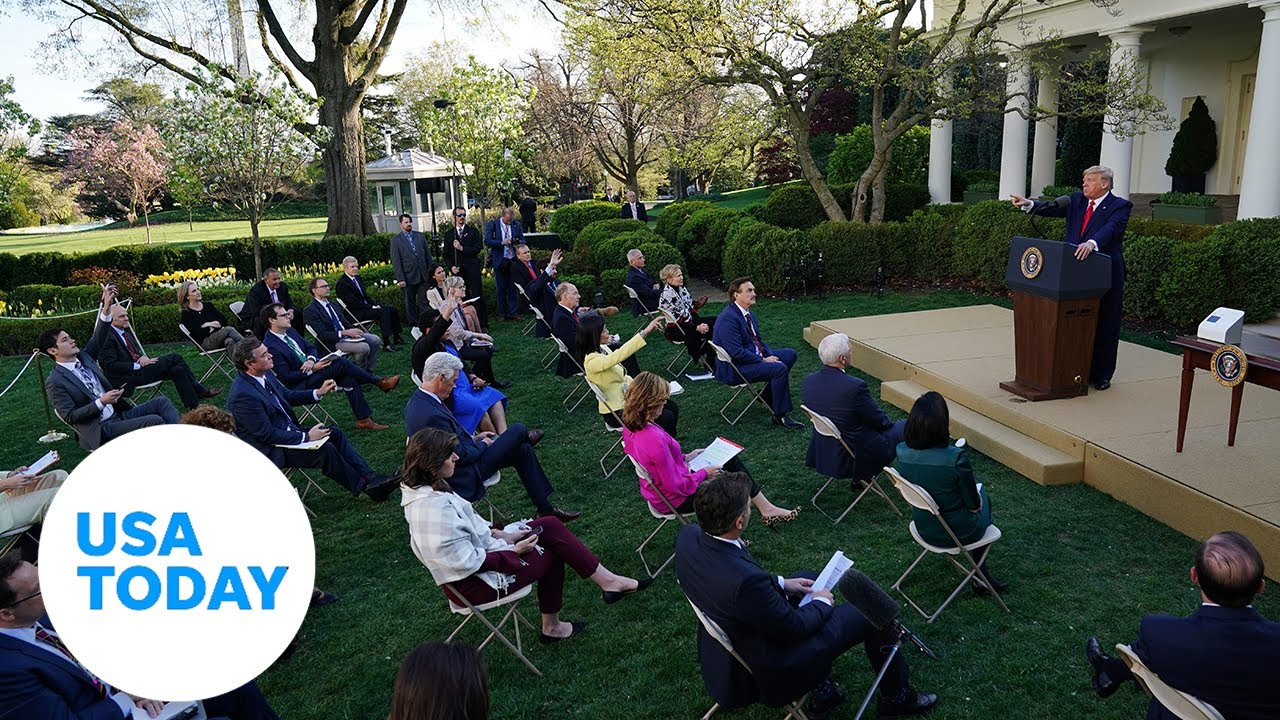 President Trump and Coronavirus Task Force provide update, Friday, April 17   USA TODAY
