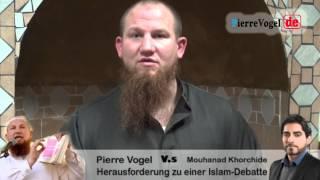 Pierre Vogel - Hey Professor! Ich fordere dich zu einer Islam Debatte heraus!