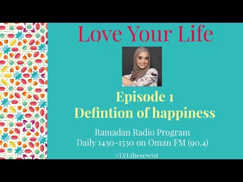 EP 1 Definition of Happiness | Love Your Life | The Sewist