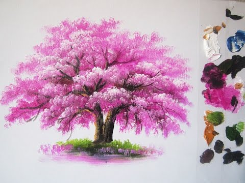 Free Download How To Paint A Tree In Acrylic Lesson 6 Mp3 dan Mp4