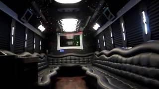 Luxe Limousines 28 Passenger Party Bus