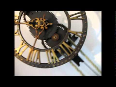 Rare Warmink Skeleton Clock For Sale On eBay UK.