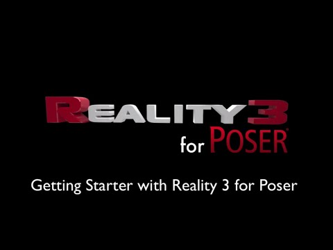 Getting started with Reality Poser Edition