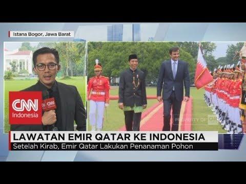 Lawatan Emil Qatar ke Indonesia