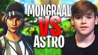 Secret Mongraal 1 VS 1 Atlantis Astro - QuadraFN ( Fortnite Creative 1v1 'EPIC BUILD BATTLES'