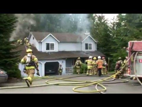 Murder / Arson Residential Fire Arlington, WA 02-15-2012