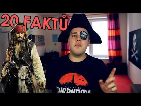 20 FAKTŮ - Piráti z Karibiku