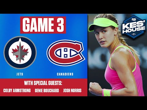 Watch Montreal Canadiens vs. Winnipeg Jets Game 3 LIVE From Kes's House