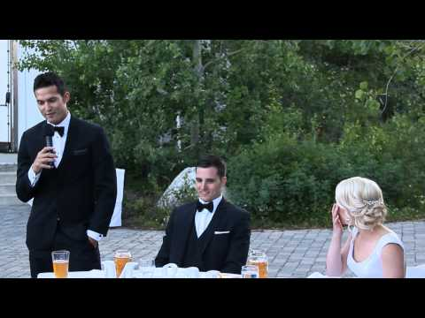 Brad & Sadie's Wedding Highlights Video – The Arling Center,Tamarack – DJ Dave's Mobile Disc Jockey
