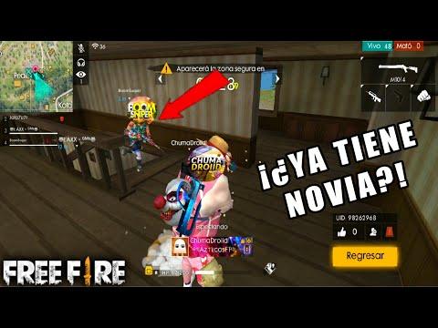 BOOMSNIPER YA TIENE NOVIA Y NO CREERÁS QUIEN ES!! FREE FIRE C/ BoomSniper, ChumaDroiid Y Laxxgames