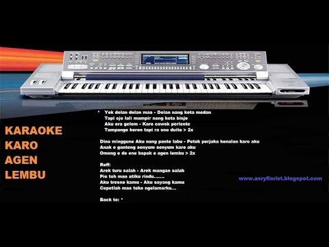 Karaoke Keyboard Karo Agen Lembu
