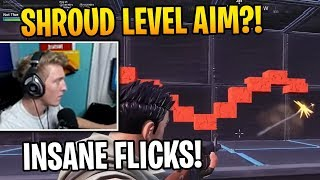 Tfue SHOWS Stream Why He's Got the Best AIM & FLICKS in Fortnite AIM TRAINING COURSE Kovaaks Moments