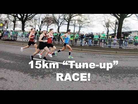 VLOG: SUB 2:18 BOSTON MARATHON TRAINING: 15KM SHAMROCK RUN RACE! Sage Canaday