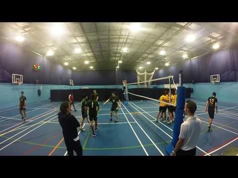 Men's Volleyball: Stirling University vs Glasgow University 2016/17 (H)