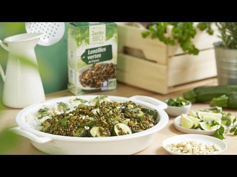 recette-curry-végétarien-de-lentilles-vertes-aux-courgettes-jardin-bio