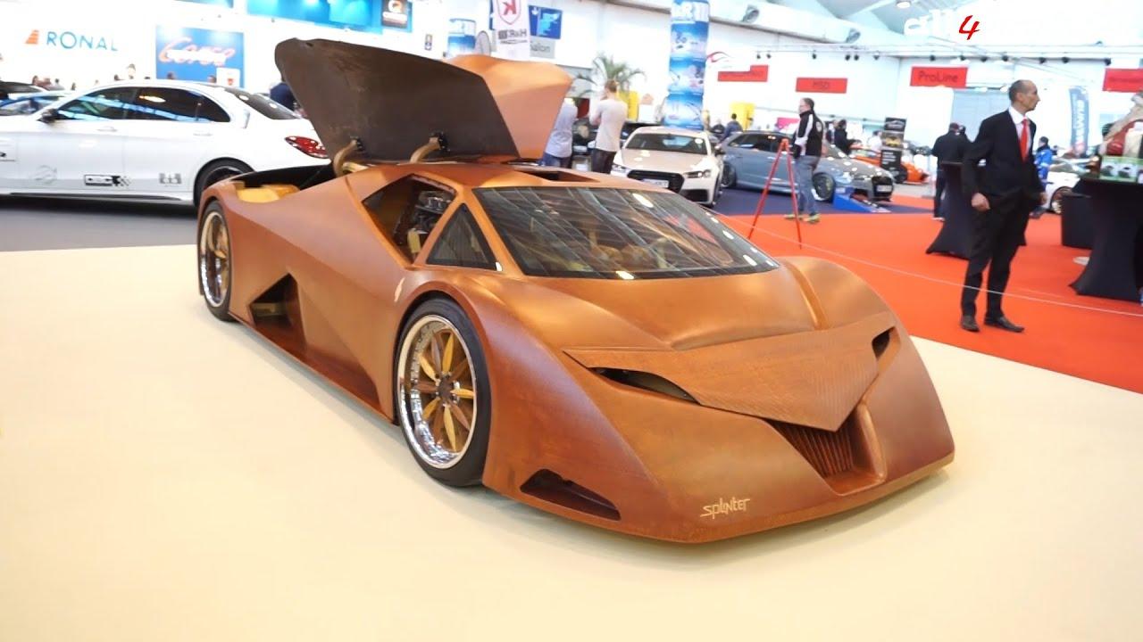 Splinter | The First Wooden Car | EssenMotorShow2015 - YouTube
