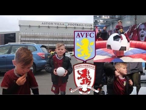 My Aston Villa Match Day Routine
