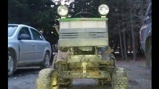 (how to bulid craftsman lawn mower lift kit)