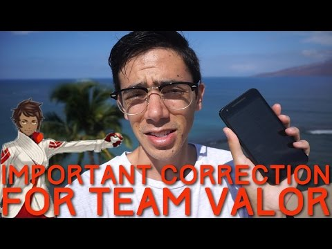 APPRAISAL SYSTEM: IMPORTANT CORRECTION FOR TEAM VALOR