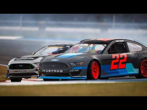 NASCAR Ford Mustang Debut with Vaughn Gittin Jr.