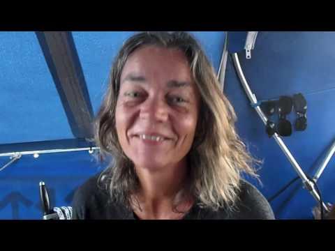 Sailing s/v Blaatunge 2016. Trine and me. Video 58