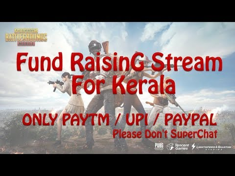 Fund Raising Stream For Kerala - Please Don't Send SUPERCHAT! #SupportKerala