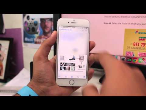 How to Save Email Attachment from Mail App to iCloud Drive in iOS 9